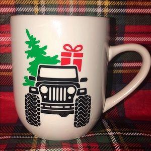 Christmas Jeep Mug
